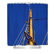 Reaching Out To The Sky Shower Curtain