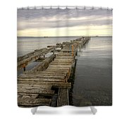 Reaching To The Horizon Shower Curtain