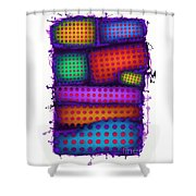 Reactive Wall Shower Curtain