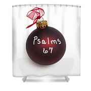 Read Psalms 67 Shower Curtain