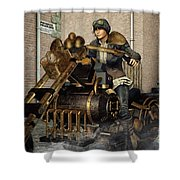 Ready For A Ride Shower Curtain