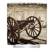 Ready For Battle At Gettysburg Shower Curtain