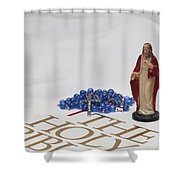 Ready For Prayer Shower Curtain