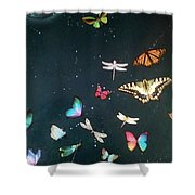 Ready For Take Off Shower Curtain