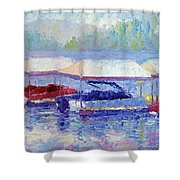 Ready For Winter Shower Curtain