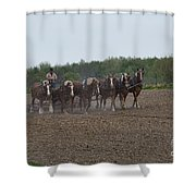Ready The Ground 1 Shower Curtain
