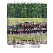 Ready The Ground Shower Curtain