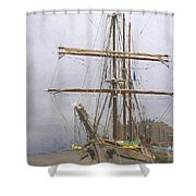 Ready To Board Shower Curtain