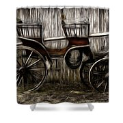Ready To Ride - Featured In Both Groups Spectacular Artworks Of Faa And Cards For All Occ  Shower Curtain