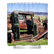 Ready To Roll Shower Curtain