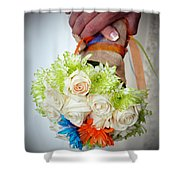 Ready To Wed Shower Curtain
