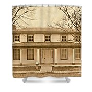 Real Dances With Wolves Se Shower Curtain