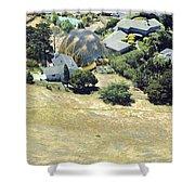 Real Tortoise Estate Shower Curtain