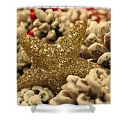Real Gold Shower Curtain