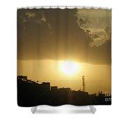 Really Beautiful Sunset Shower Curtain