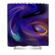 Reaper Of Souls Shower Curtain