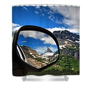Rear View Shower Curtain
