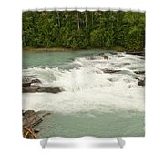 Rearguard Falls Of The Fraser River Shower Curtain