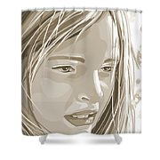 Rebecca Shower Curtain