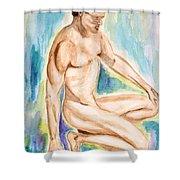 Rebirth Of Apollo Shower Curtain