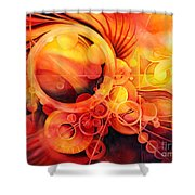 Rebirth - Phoenix Shower Curtain