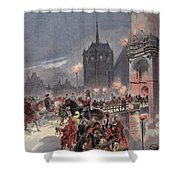 Reception Of Charles V In Amboise Shower Curtain