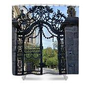 Recidence Garden Gate - Wuerzburg Shower Curtain