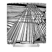 Recovery Shower Curtain