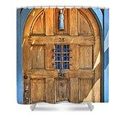 Rectory Door Shower Curtain