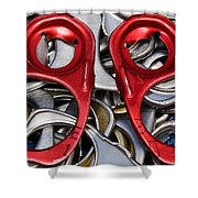 Recycled Love Shower Curtain by Andee Design