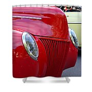 Red 40 Ford Shower Curtain