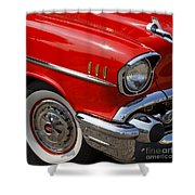 Red '57 Shower Curtain