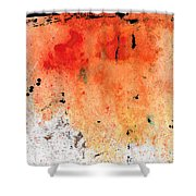 Red Abstract Art - Taking Chances - By Sharon Cummings Shower Curtain