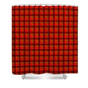 Red And Black Checkered Tablecloth Cloth Background Shower Curtain