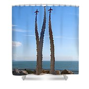 Red Arrows Memorial Shower Curtain
