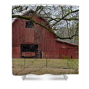 Red Barn Series Picture E Shower Curtain
