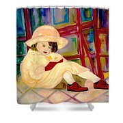 Red Book Shower Curtain