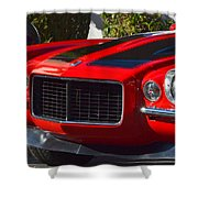 Red Camaro Shower Curtain