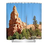 Red Canyon 2 Shower Curtain