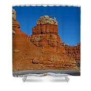 Red Canyon Dixie National Forest Shower Curtain