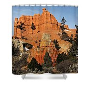Red Canyon - Scenic Byway 12 Shower Curtain
