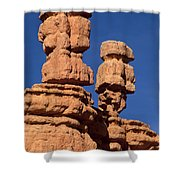 Red Canyon Utah Shower Curtain