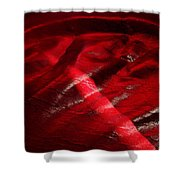 Red Chair II Shower Curtain