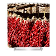 Red Chili Ristras Shower Curtain