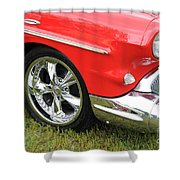 Red Classic Shower Curtain
