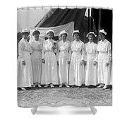 Red Cross Nurses, 1916 Shower Curtain