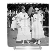 Red Cross Parade, 1918 Shower Curtain