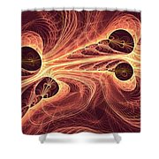 Red Current Shower Curtain
