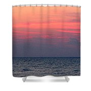 Red Dawn 1 Shower Curtain
