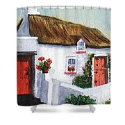 Red Door Cottage Like Maggies Shower Curtain